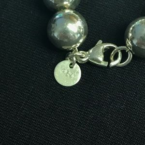 Tiffany & Co. Jewelry - Tiffany & Co sterling silver ball bracelet   ✨